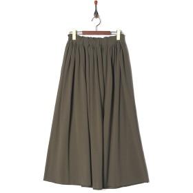 LILLY LYNQUE FRESKA鹿の子 スカート○8707111 Khaki スカート