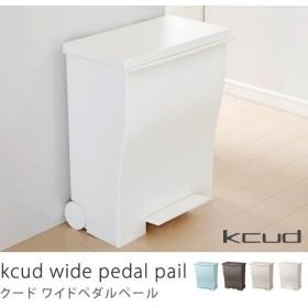 ゴミ箱 キッチン 45リットル 45l ふた付き ペダル スリム ワイドダストボックス kcud クード おしゃれ