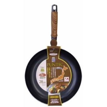 竹原製缶 和楽IHフライパン PM327 ブラウン 28cm