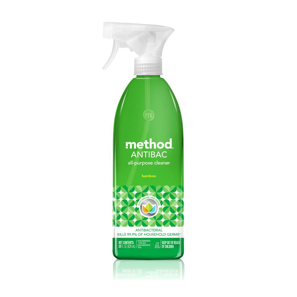Method 美則全方位抗菌清潔劑-綠竹香828ml