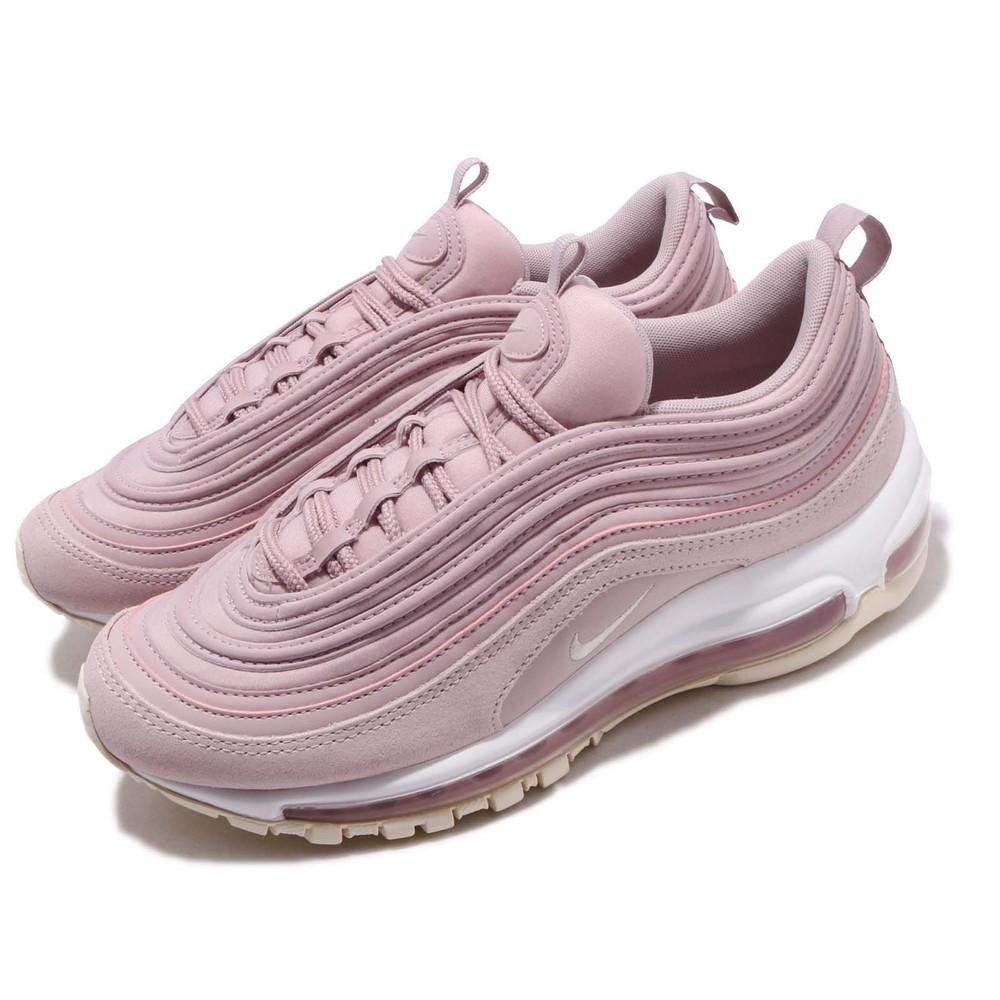 NIKE 休閒鞋 Air Max 97 PRM 女鞋 運動 大氣墊 復古球鞋 小粉鞋 粉 裸色 [917646-500]