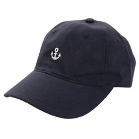 【Super Sports XEBIO & mall店:帽子】リネン刺繍キャップ MARINE 897PA9ST1737 NVY