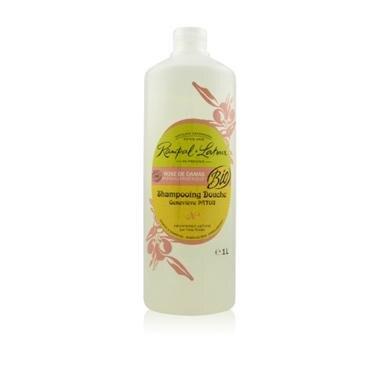 【壓頭組】南法香頌 歐巴拉朵2in1玫瑰純露洗髮沐浴精(1L/瓶)x1_附提袋壓頭