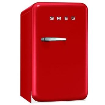 SMEG(スメッグ) 1ドア冷蔵庫42L/右開き レッド FAB5URR