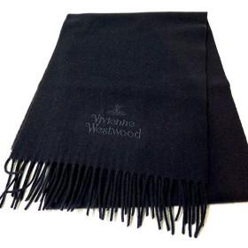 ヴィヴィアン ウエストウッド VIVIENNE WESTWOOD オーブ&ロゴ マフラー 10081-K401-DBL ダークブルー ポイント消化