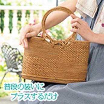 バリ島の手作りカゴバッグ