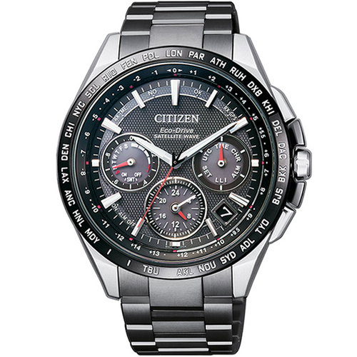 【CITIZEN】星辰 GPS衛星對時 鈦金屬限量旗艦錶款 CC9015-62E 台灣限定版