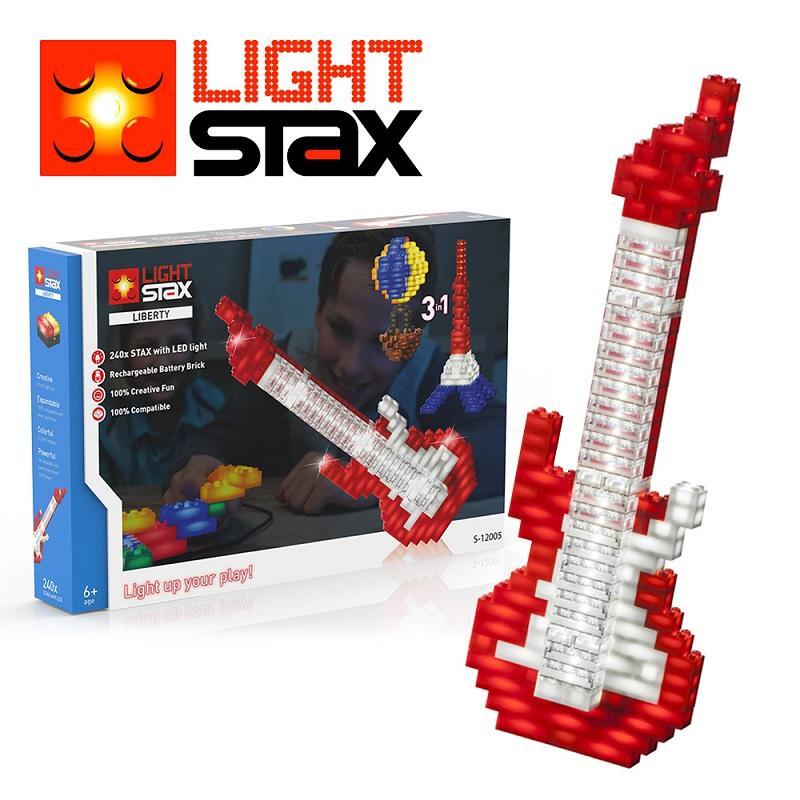 創意LED積木(吉他3合1)