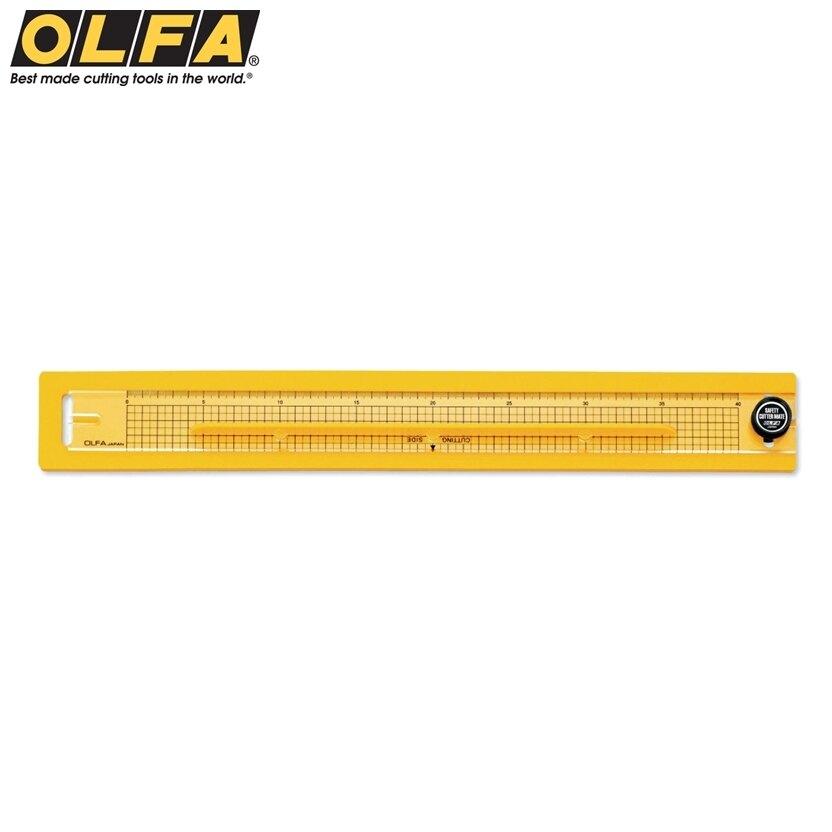 又敗家@日本OLFA壓克力切割尺安全直尺組176B(不傷桌面;左撇子左手亦可,最大A3)裁切器裁切靠板直線切割工具切割板
