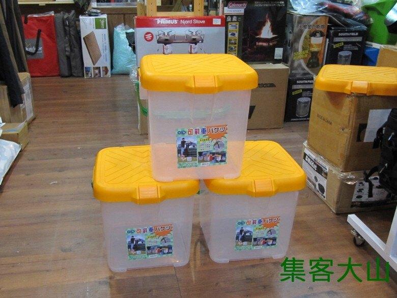 【露營趣】P-888 多功能承重置物桶 收納箱 RV桶 置物箱 月光寶盒 水桶 可當椅子