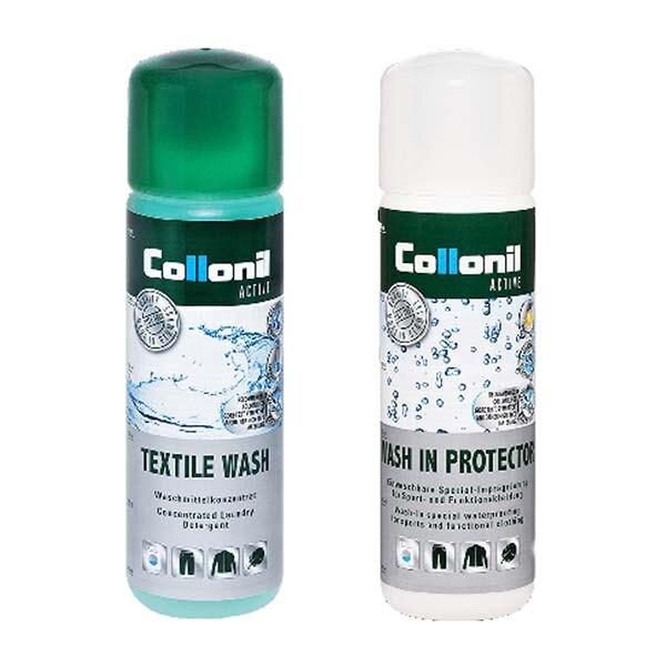 《台南悠活運動家》COLLONIL 德國 衣物清洗劑+浸泡式防潑水劑(兩瓶一組) CL7355