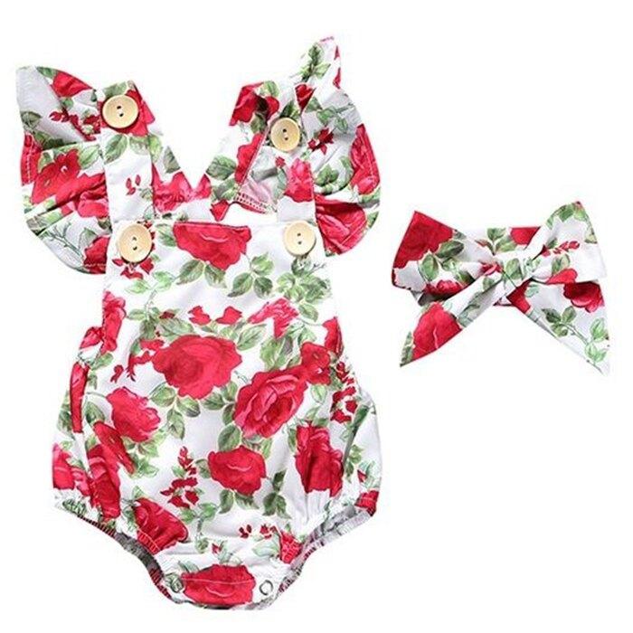 短袖包屁衣 嬰兒兔裝+頭飾 雪紡哈衣 寶寶連身衣 童裝 SK2195 好娃娃