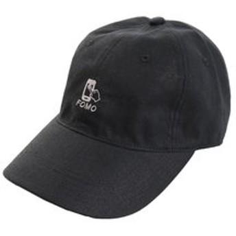 【Super Sports XEBIO & mall店:帽子】リネン刺繍キャップ FOMO 897PA9ST1754 BLK