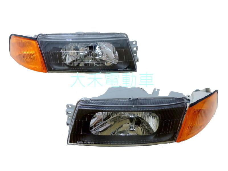 [大禾自動車] MITSUBISHI 三菱 EVO LANCER VIRAGE 99-00 黑框大燈+黃角燈
