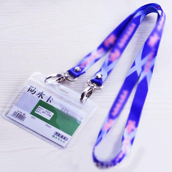 A4000客製化雙頭證件帶-樣本 證件帶 識別證 吊帶 車票卡 悠遊卡 素色 贈品禮品