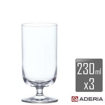 【ADERIA】柯爾特酒杯-m x3入組 L-6837 / 日本製 石塚哨子 耐溫120度 玻璃杯 紅酒 小酌 宴客