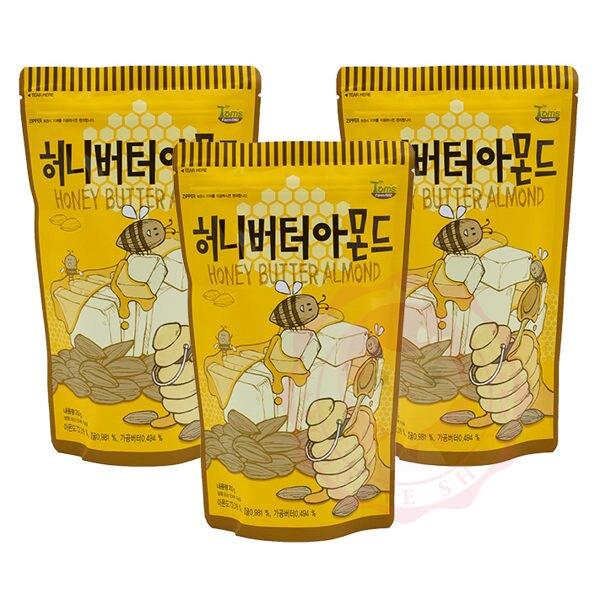Toms Gilim  韓國 蜂蜜奶油杏仁果 杏仁 堅果 進口零食(210g)【庫奇小舖】