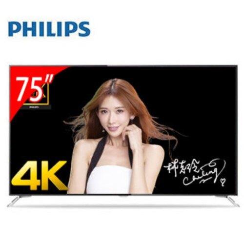 PHILIPS飛利浦 75吋 4K LED 智慧型電視 75PUH7101