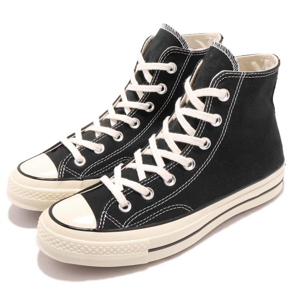 休閒帆布鞋品牌:CONVERSE型號:162050C品名:Chuck 70配色:黑色,米白色