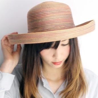 ハット レディース 帽子 セーラー 紫外線カット 小物 UVカットハット 春夏 MIXカラー マルチ