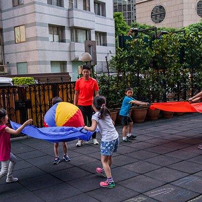 【GoodKidsToy 好童年玩具】iSport-合作拋接傘 SA020