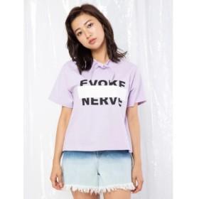 【セシルマクビー/CECIL McBEE】 【WEB限定】AilandlimitedリボンTシャツ