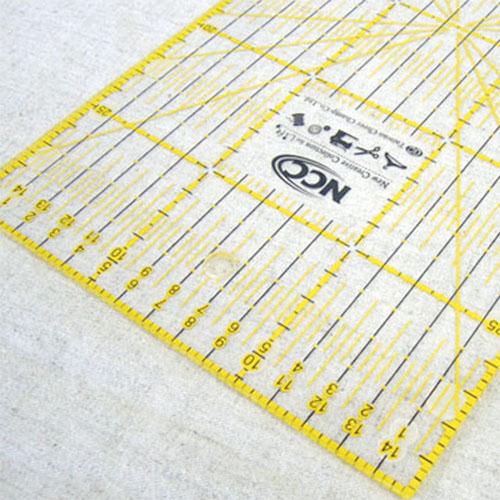 【NCC】雙色拼布尺30cm
