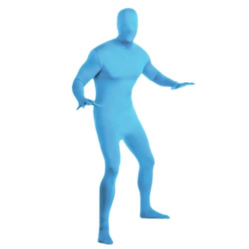 人物去背服(藍)