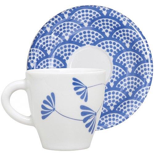 《EXCELSA》Maga咖啡杯碟組(湛藍100ml)