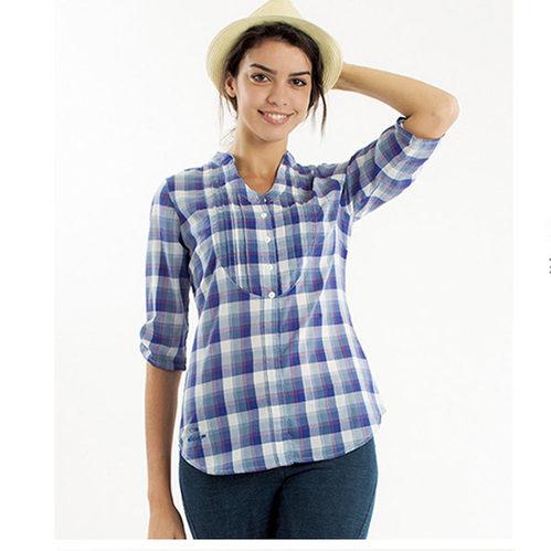 法國【EiDER】女排汗透氣抗UV七分袖襯衫 -共2色