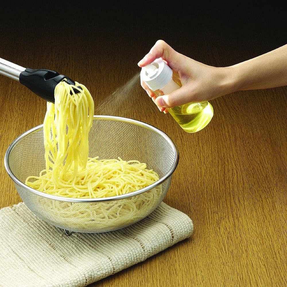 日本RISU調味油噴霧玻璃罐(JPM優秀賞)白色140ml