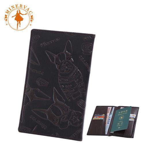 minervac 米納瓦埃菲爾護照錢夾護照包 mh-818