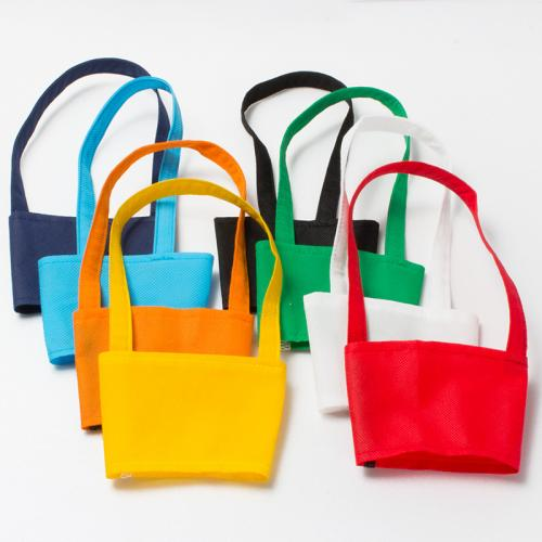 【500個含1色印刷】 超聯捷 寬版不織布杯袋飲料杯提袋 客製 S1-44028-500