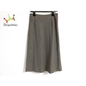 マーガレットハウエル MargaretHowell スカート サイズ2 M レディース 美品 グレー   スペシャル特価 20190909