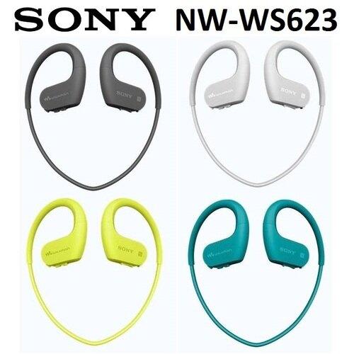 【免運費】SONY NW-WS623 極限運動隨身聽-4GB (公司貨)