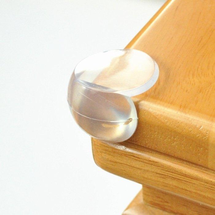 寶寶必備優質Pvc 家庭安全必備-防撞角 3*3CM 安全防撞角 防護角 安全桌角 避免寶寶撞傷 附3M雙面膠