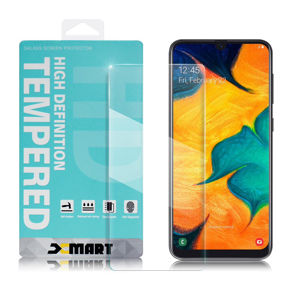 Xmart for 三星 Samsung Galaxy A30/A50 共用版 薄型 9H 玻璃保護貼-非滿版