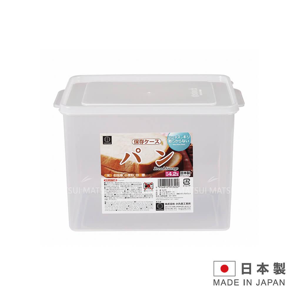 KOKUBO 日本小久保 4.2L方型保鮮盒 KOK-5320