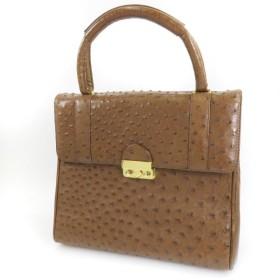 SELECT BAG【セレクトバッグ】 アニマル ハンドバッグ オーストリッチ レディース 【中古】
