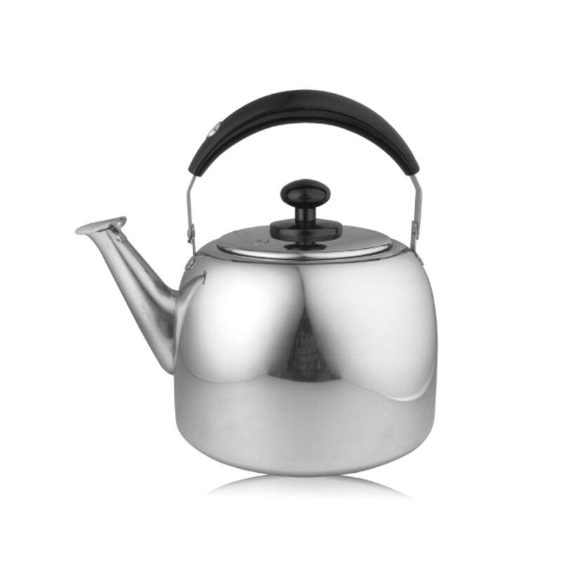 牛頭牌百福樂不銹鋼笛音茶壺5L開水壺電解處理防水垢-大廚師百貨