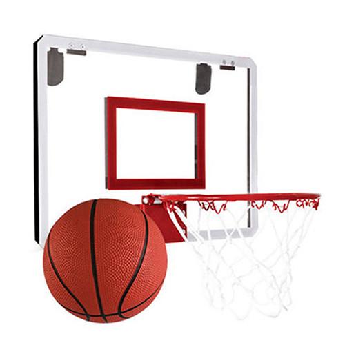 孩子國免打孔掛式室內籃球架/小籃板 /兒童籃球 (附籃球.打氣筒)