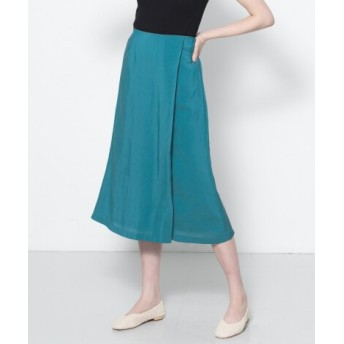 SENSE OF PLACE(センスオブプレイス) スカート スカート セミフレアスリットスカート