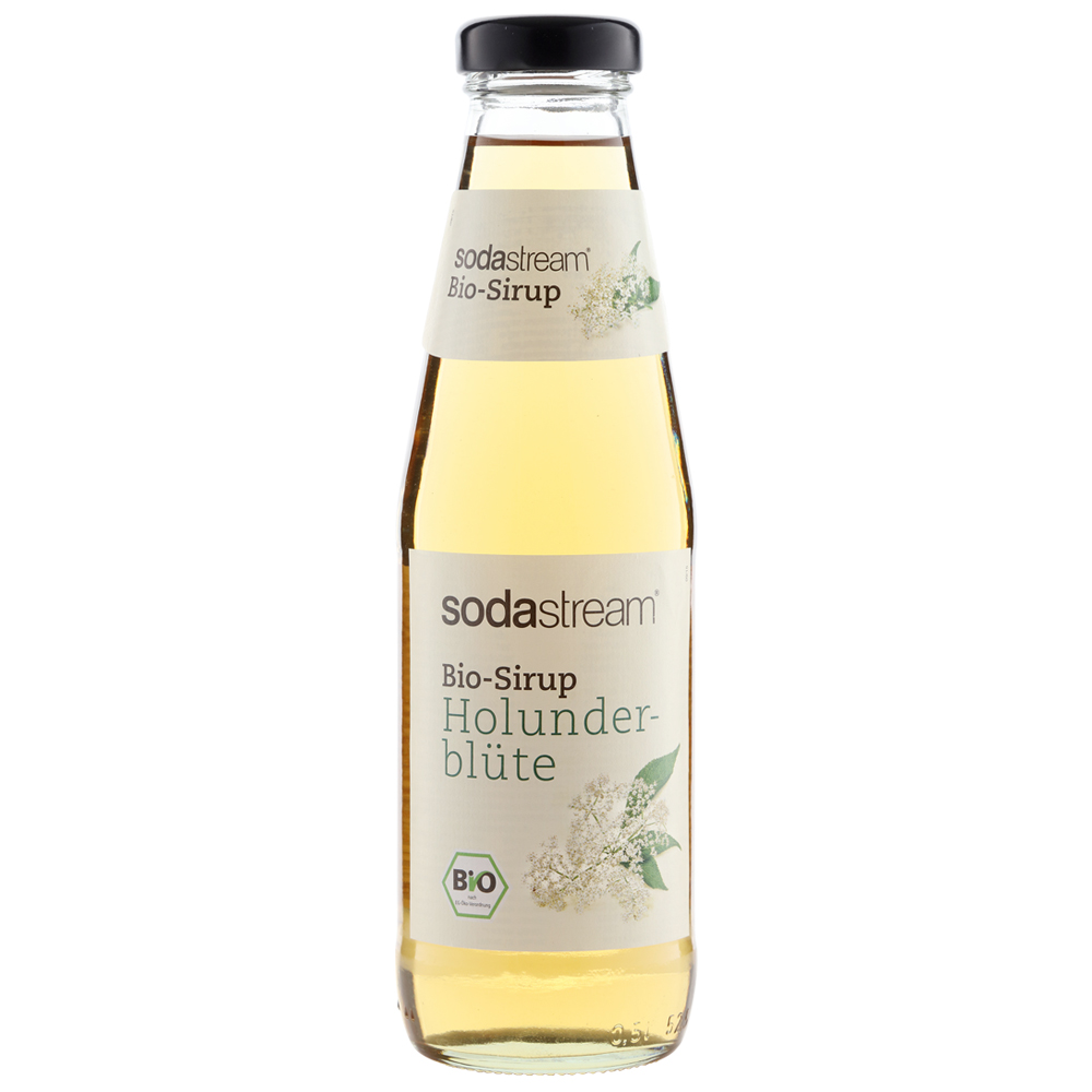 Sodastream 接骨木花糖漿500ml