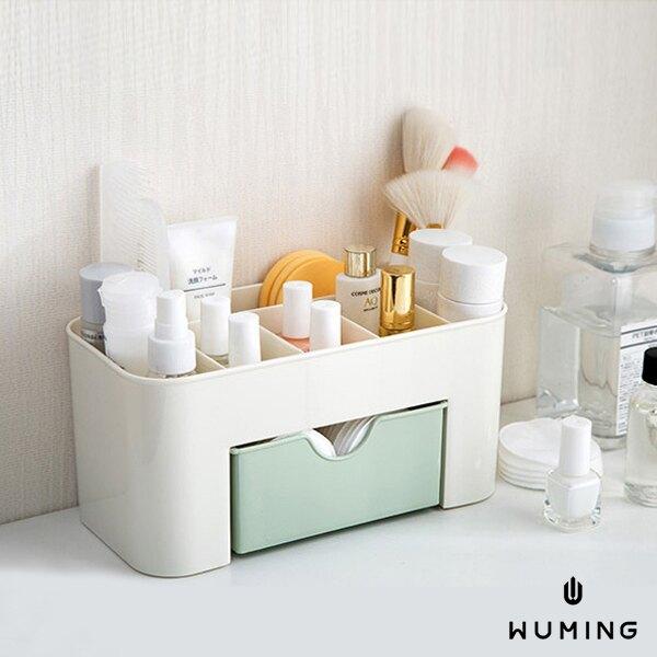 附抽屜 化妝品 收納盒 化妝盒 整理盒 梳妝台 桌面 首飾盒 保養品 書桌 文具 居家收納 『無名』 N03109