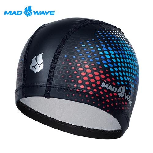 俄羅斯MADWAVE RUS 成人PU泳帽