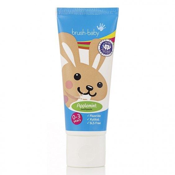 英國 brush-baby貝寶兔木糖醇牙膏(50ml)