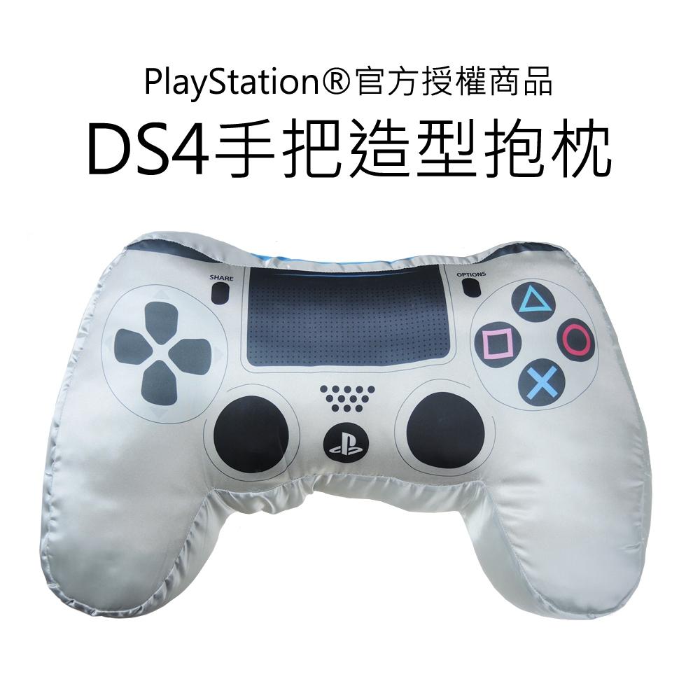 DS4手把造型抱枕-銀(OLP-HUG-01SV)