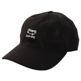 【Super Sports XEBIO & mall店:帽子】リネン刺繍キャップ skart dog 897PA9ST1735 BLK