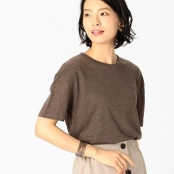 COMME CA ISM コムサイズム フレンチリネン Tシャツ