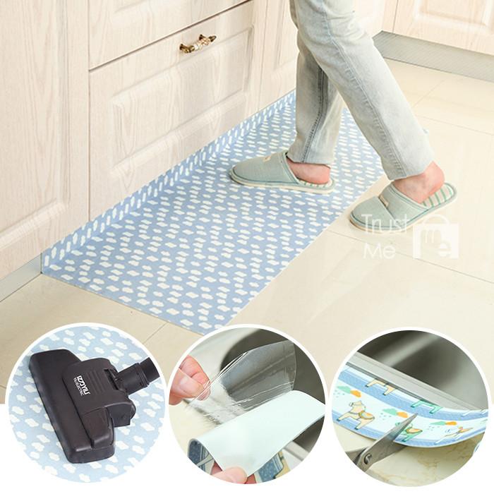 自黏式吸濕防滑地墊止滑門墊 45*60cm 廚房衛浴吸水踏墊